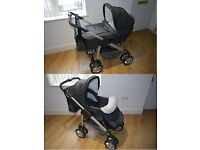 CAN POST Limited Edition Silver Cross Silvercross Sleepover Freeway Linear Pram Pushchair & Extras