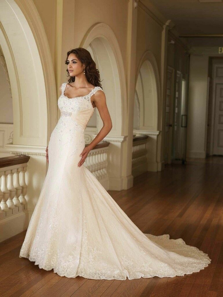 For sale stunning mermaid style wedding dress in ingleby barwick for sale stunning mermaid style wedding dress junglespirit Image collections