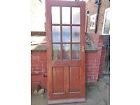 External back door