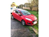 Ford fiesta, great condition with low milage!