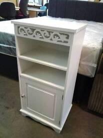 White bedroom unit