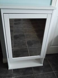 Ikea Hemnes Bathroom mirror cabinet with 1 door