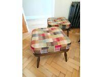 Ercol Evergreen 205 Footstool Foot Stool New Cushion/Upholstery/Webbin