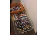Approx 100 DVD collection
