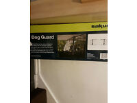 Unused dog guard