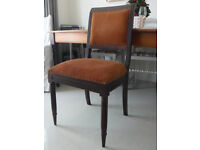 8 Dining Chairs Upholstered, Solid, Sturdy & very Comfortable !