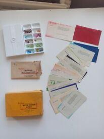 Antique Photo Colorisation Kit: Kodak Velox Transparent Water Color Stamp Outfit