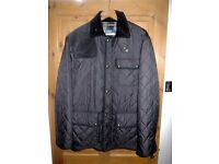 Man's Ralph Lauren black quilted jacket size L