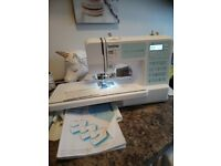 Brother FS-40 computerised sewing machine with platform
