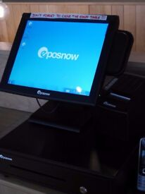 EPOS till system with cash drawer and 2 printers