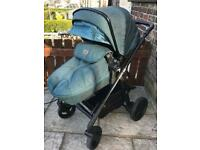 Silver Cross Pram - limited edition Horizon Go
