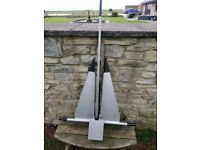 Large Danforth Boat Anchor First Class Condition