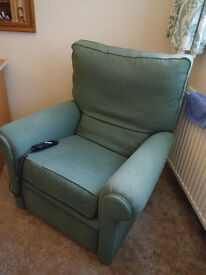 Green Electric Recliner Chair