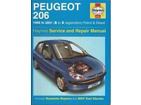 Peugeot 206 Petrol and Diesel Service and Repair Manual: 2002-2009