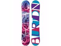 Burton Feelgood 2017 Flying-V 149 cm FV 17 NEW snowboard