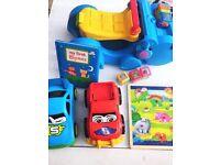 Toys walker ride on bundle