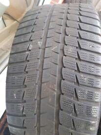 2 x Falken eurowinter & 2 x Matador Nordicca 245/40/18 winter tyres