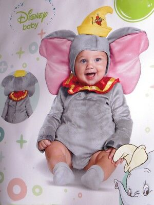 Disney Baby DUMBO Flying Elephant Halloween Costume 6 12 18 Months Infant - Baby Dumbo Kostüm
