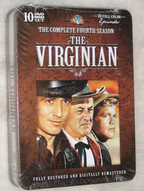 The Virginian - Complete Season Series Four 4 - Limited Edition Tin DVD Set NEW
