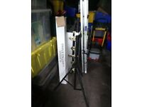 PULSE LIGHTING/SPEAKER STANDS X2