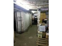 Storage Warehouse Unit to rent in Woodford Green, call us 020 3355 0908