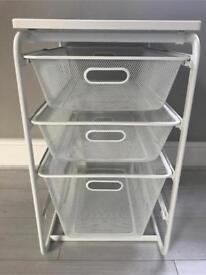 Three-Tier Storage Drawers