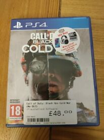 Call of duty COD Black ops cold war PS4 game