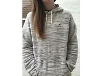 Hollister Co. Cream Hoodie