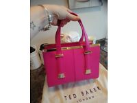 Genuine leather Ted Baker small bag like new with dustbag