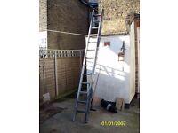 alliminium 2 tear ladder