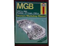 MGB Owners Workshop Manual Haynes