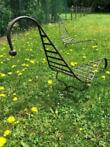 Easy chair wrought Iron