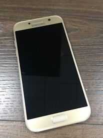 SAMSUNG A5 GOLD 32GB UNLOCKED EXCELLENT CONDITION