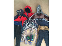 Boys winter clothes bundle - age 2-3