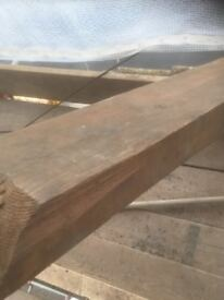 """Old pine timber purlins 9"""" x 3"""" excellent up cycle"""