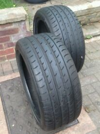 PAIR (x2) TOYO PROXES T1 245/40 ZR18 97Y TYRES New other (Read description)