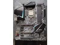 Z-390 MSI Gaming Edge AC + i5 9600kf bundle