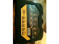 JCB 6 piece 1/4 inch router bit set NEW