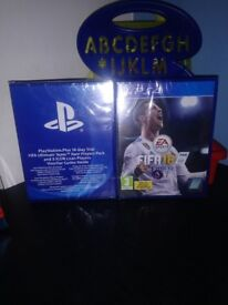 FIFA 18 Playstation 4. Rare players pack.. brand new ... SEALED