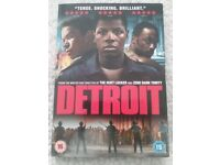 DETROIT DVD WITH CARDBOARD SLIP CASE COVER