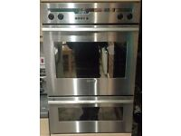 Neff stainless steel built in double oven U1552N0GB