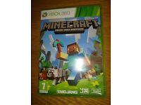 Xbox 360 Game Minecraft Xbox 360 Edition As New Condition