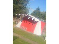 Vintage 4 man tent