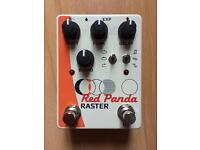 Red Panda Raster delay fx pedal