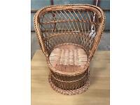 Vintage children's Wicker Chair