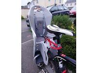 Polisport child bike seat vgc