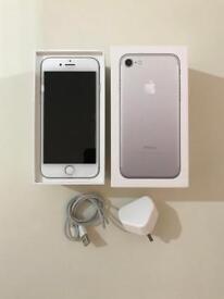 iPhone 7 Silver 256gb Unlocked