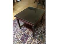 Stag Minstrel two tier coffee table