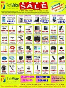 TECHVISION ELECTRONICS SPRING SALE FLYER FROM MAY 15 TO MAY 30, 2019