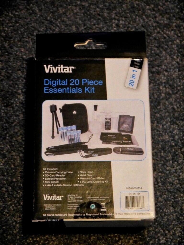 Vivitar Digital Camera 20 Piece Essentials Accessories Kit | in Dorking,  Surrey | Gumtree